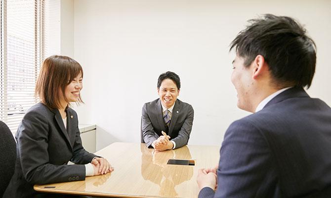 心から信頼、尊敬できる上司や先輩たち